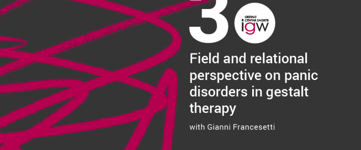 Field and relational perspective on panic disorders in gestalt therapy